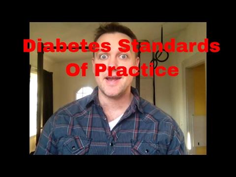 Diabetes Practice Standards 2017