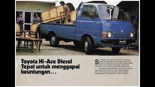 Umur 35 Tahun Lebih, TOYOTA Hiace Pick Up Tetap Ngacir BOS!!!!!