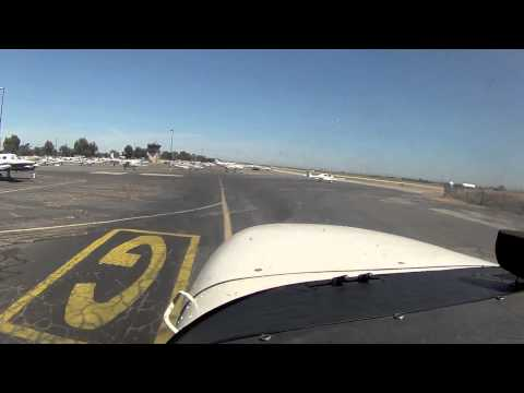 Taxi and Takeoff from Palo Alto (KPAO)
