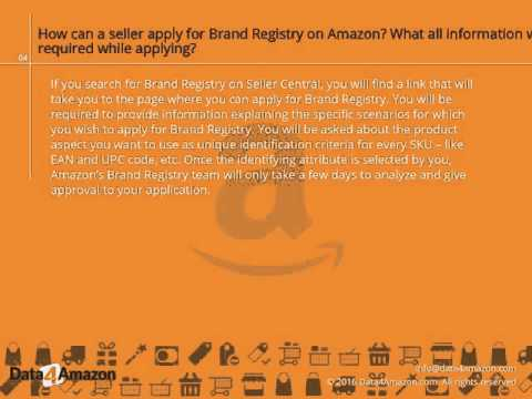 Brand protection through Amazon Brand Registry: Your questions answered - Data4Amazon.com