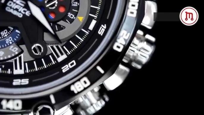 ca85fd02b0d Relógio Casio Edifice EF-550RBSP-1AV - Edição limitada Red Bull - YouTube
