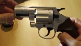 Colt Detective Special Revolver UMAREX 9mm Knall (Unboxing, Ansicht und Ladevorgang)