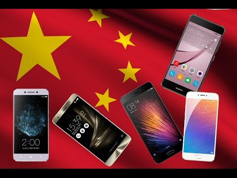 ТОП5 китайских производителей смартфонов