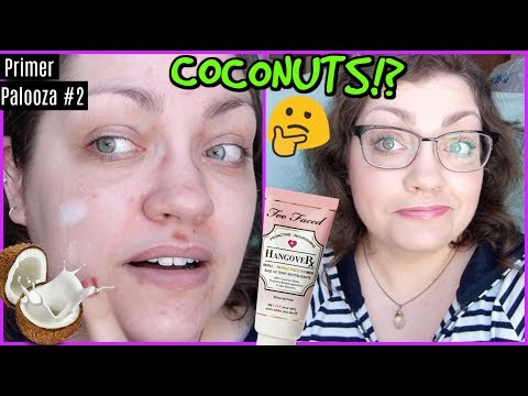 Too Faced Hangover Rx Replenishing Face Primer | PRIMER PALOOZA (DAY 2)