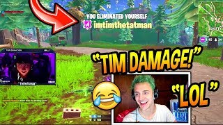 "NINJA REACTS TO ""TIMTHETATMAN'S MOST VIEWED TWITCH CLIPS OF ALL TIME!"" Fortnite FUNNY Moments"