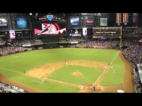 Diamondbacks vs. Padres (9/10/11; 2001 World Series Championship Reunion Game: Video 5 of 6)