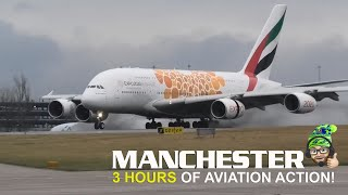 3 hours of Planespotting at Manchester Airport - 25/1