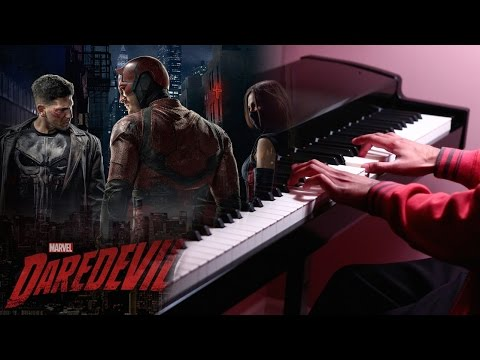 Daredevil  Main Theme  Piano