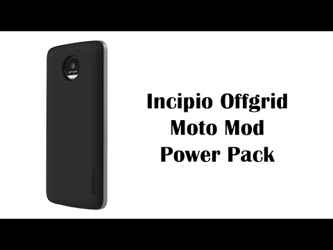 best authentic e45cf f50f2 Incipio Offgrid Power Pack Mod for the Moto