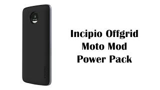 incipio offgrid power pack mod for the moto