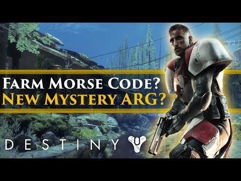 Destiny 2 - New Destiny ARG? Mysterious Morse Code found on the farm!