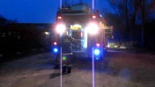 Tårnby Brandvæsen til ild i spejderhytte 300410 - 1