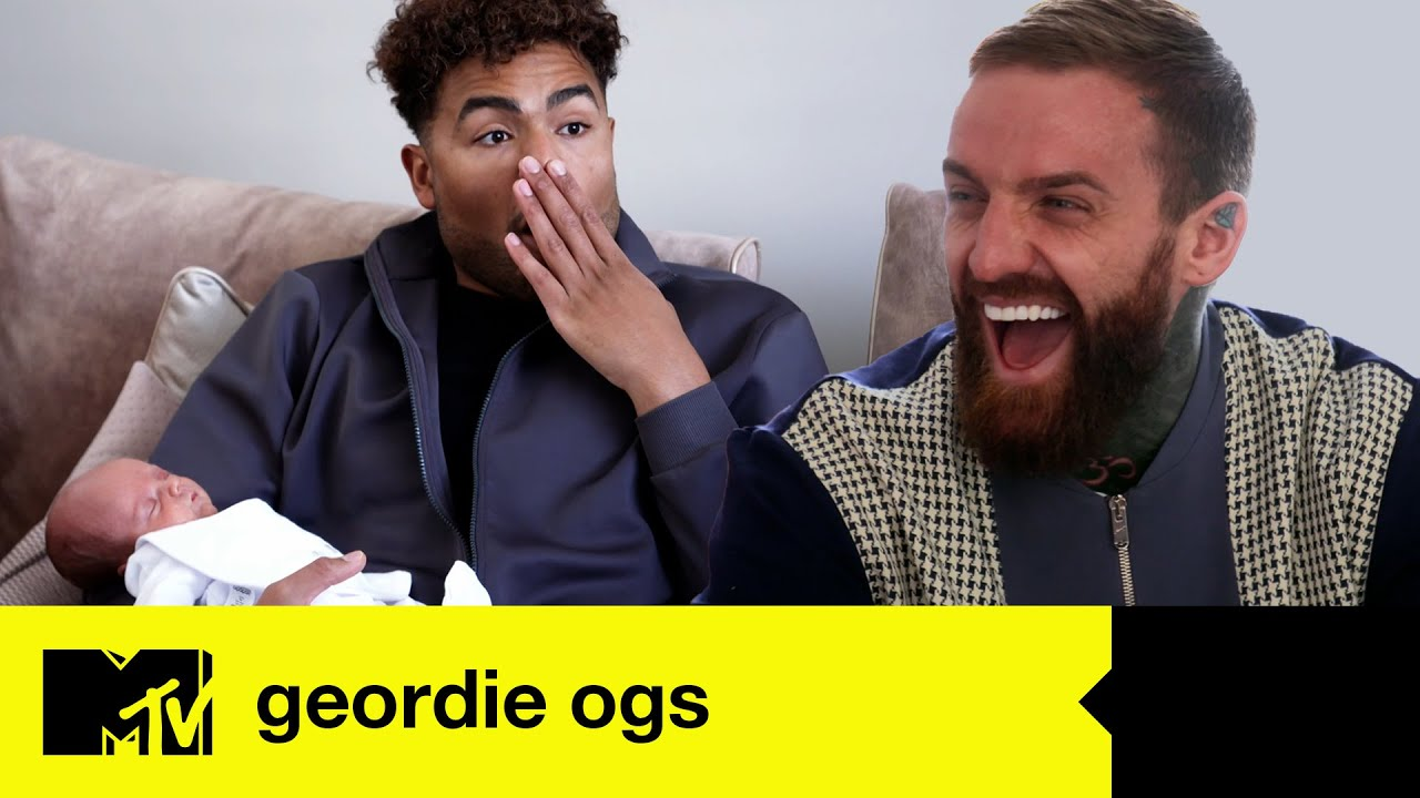 Nathan Henry Meets Aaron Chalmers's Baby Boy Maddox And Gets A Surprise   Geordie OGs 4   MTV Shores