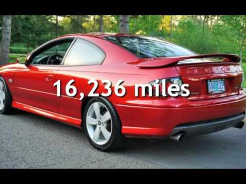 2006 Pontiac GTO Only 16K MIles 60L V8 400Hp 6 Speed Manual for