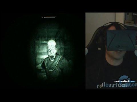 Outlast Parte 2 - Oculus Rift: GAMEPLAY