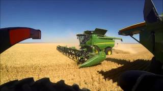 Australian wheat harvest 2013