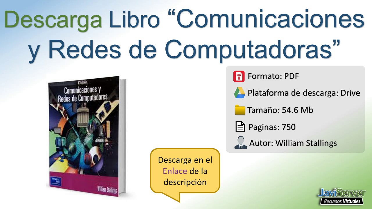 comunicaciones y redes de computadoras 7ed william stallings