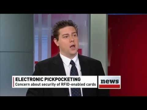 CBC News Morning - Cell Phone & NFC Security Issues - Michael Legary