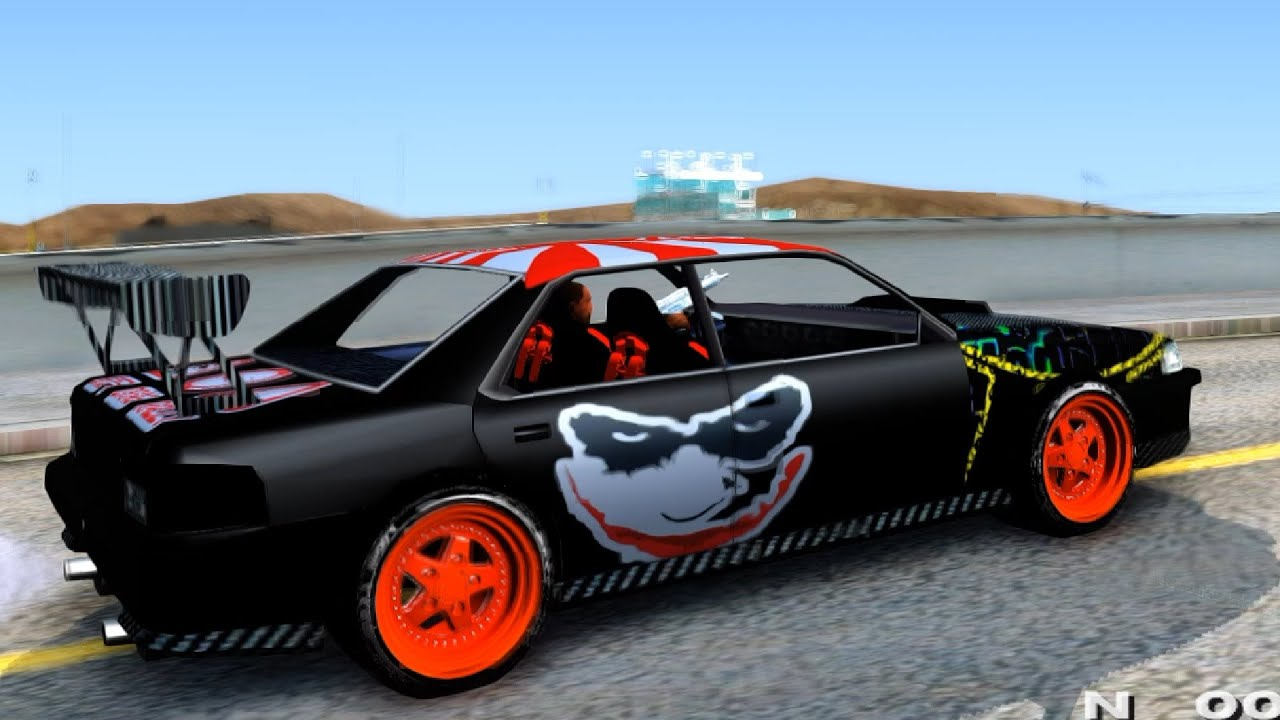 Sultan full of stickers gta san andreas youtube