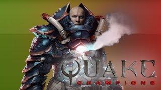 Первое мясо в Quake Champions