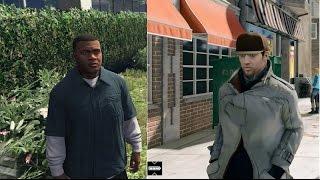 GTA V vs Watch Dogs Next Gen Graphics Comparison