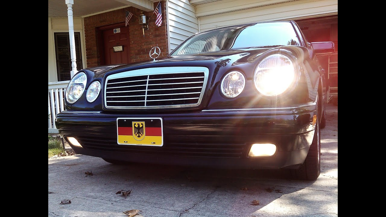 1999 mercedes benz e430 with magnaflow muffler with built in x pipe and with the resonator delete youtube