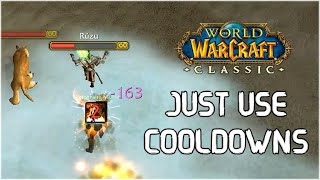 Just USE Your COOLDOWNS | Rogue PvP WoW Classic