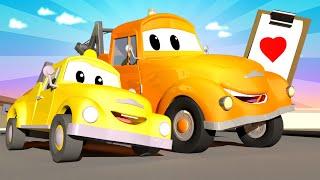 Çekici Tom -  Özel Babalar Günü - Babalar Günü Hediyesi - Araba şehri 🚗 Çocuklar için çizgi filmler