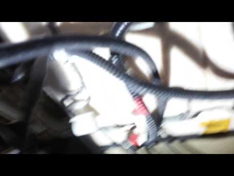 Prado 120. Ошибка системы Air Bag B1153. Горит контрольная лампа неисправности подушек.