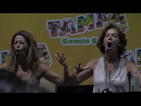 Sailor Moon Panel with Linda Ballantyne and Katie Griffin @ Tampa Bay Comic Con 2017