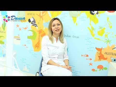 Детские стрип коронки на молочные зубы в Волжском в клинике ДАША
