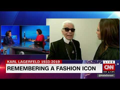 CNN KARL LAGERFELD TRIBUTE Suzy Menkes Vogue 19/2/19