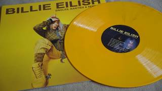 Billie Eilish Singles, Rarities & Remixes Vinyl LP Record Unboxing Review - How does it Play?