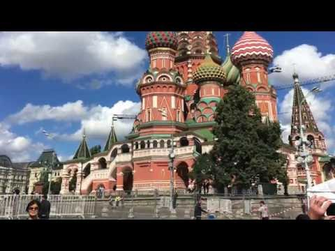 One Week in Russia...CHAD DEGROOT