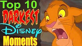 Top 10 Darkest Disney Movie Moments