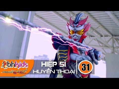 Siêu Nhân Hiệp Sĩ Huyền Thoại (Legend Heroes) Tập 31 : Triệu Hồi Thiên Binh Thần Quân