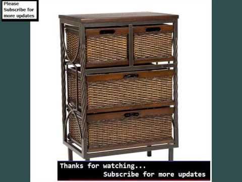 Charmant Wicker Storage Drawers | Wicker Drawers
