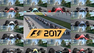F1 2017 top speed test - fastest classic car in the game?