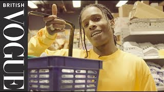 A$AP Rocky Takes Vogue On A Tour Of His Bodega | British Vogue Exclusive  | British Vogue