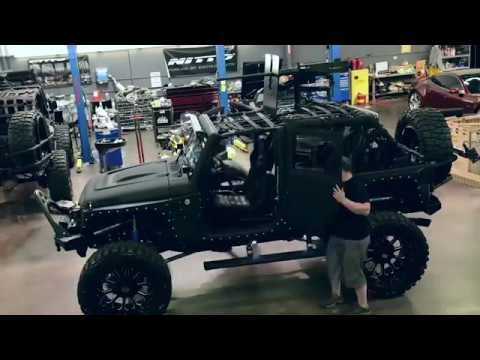 Starwood Customs Custom Jeep Build Process