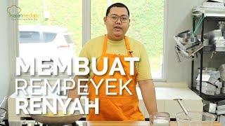 TIPS MEMASAK: MEMBUAT REMPEYEK RENYAH