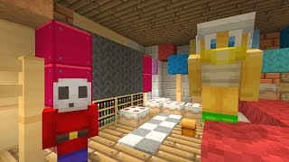 Minecraft Wii U - Nintendo Fun House - Bowser Jr Throws a Party [3]