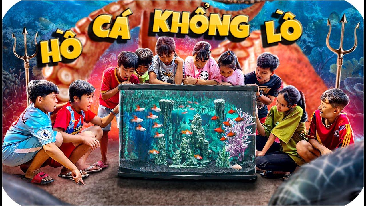 Tony | Xây Hồ Cá Di Động Khổng Lồ - Build Aquarium