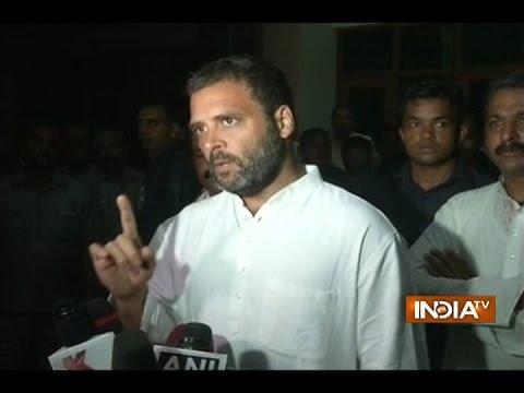 Rahul Gandhi Says PM Modi's Policies are Responsible for Uri Terror Attack
