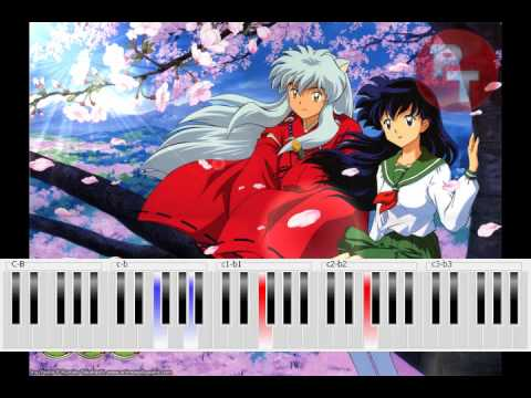 Inuyasha - To Love's End Piano Tutorial
