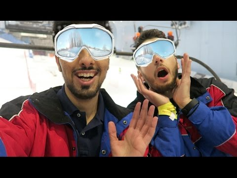 Ski Dubai with Special Youtube Guest !!!!