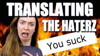 GOOGLE TRANSLATING MY HATE COMMENTS thumbnail
