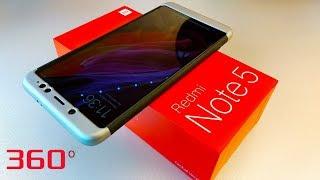 Чехол Xiaomi Redmi Note 5 ПОЛНОЕ ПОКРЫТИЕ 360