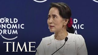 Aung San Suu Kyi Says Myanmar's Rohingya Crisis Could Have Been 'Handled Better' | TIME