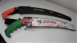 Samurai Pruning Saws. ( review / test cuts )